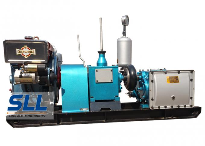 High pressure hydraulic plunger piston diesel engine electric three cylinders mine coal sewage mud tunnel sludge pump