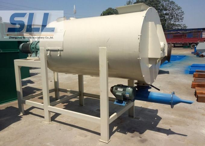 5-20t Per Hour Dry Mixing Equipment , Cement Silo Dry Mix Mortar Plant