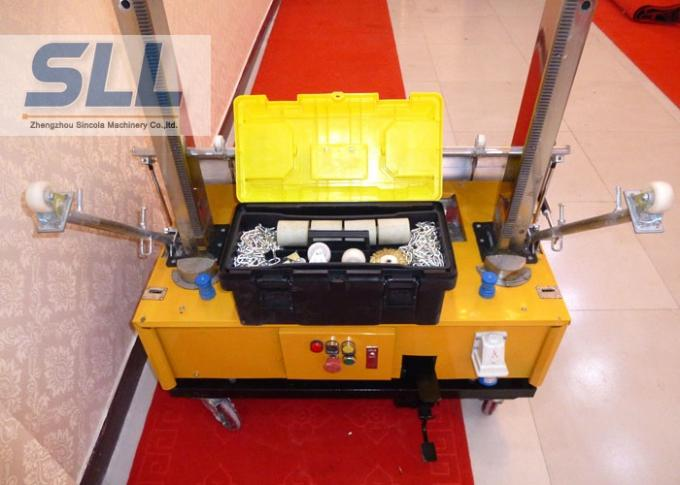 Remote Control Construction Plaster Machine / Automatic Plastering Machine For Wall