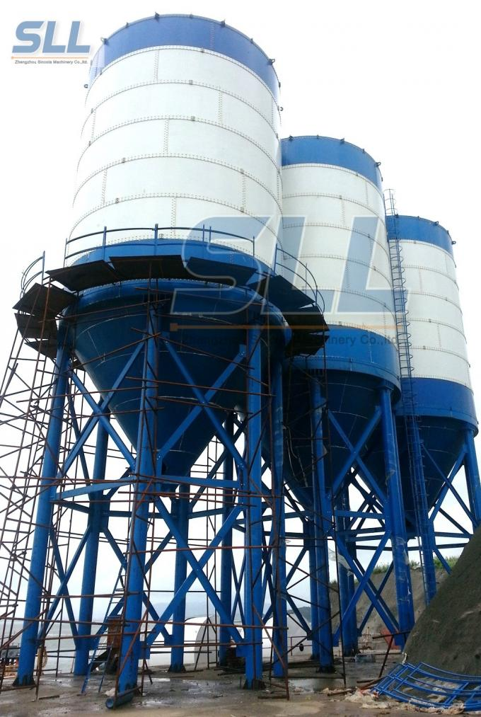30t 60t 100t 150t 200 Ton Cement Storage Silo Fly Ash Silo Steel Structure