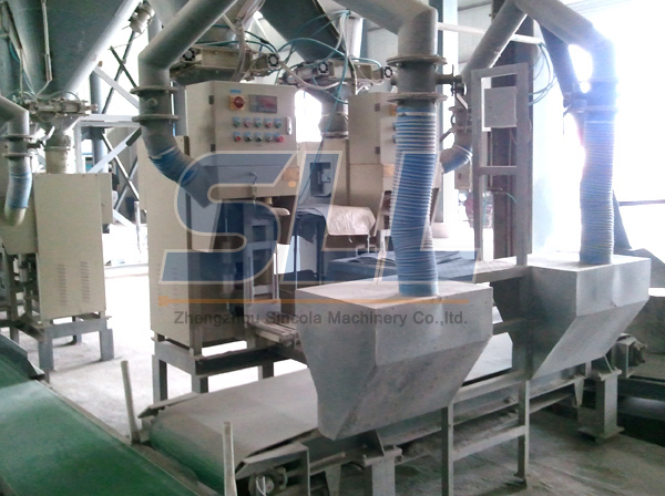 Easy Operation Mortar Mixing Equipment With PLC Control System Carbon Steel Material
