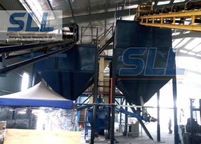 Professional Design Dry Mix Mortar Production Line Durable Large Capacity