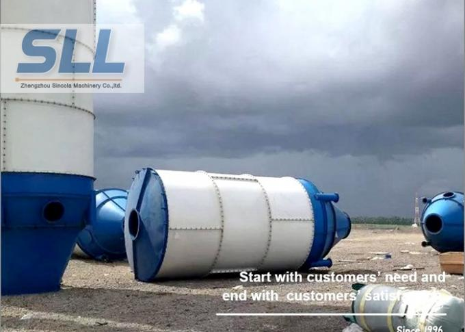 Stationary Type Fly Ash Storage Silo For Concrete Mixing Plant 3-10T