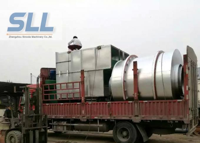 Durable Sand Dryer Machine Sand Drying Plant Environmental Protection