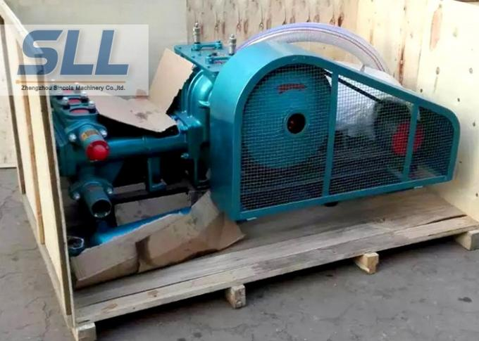 Railway Electric Cement Grouting Pump For Grout Cement Paste Adjustable Flow