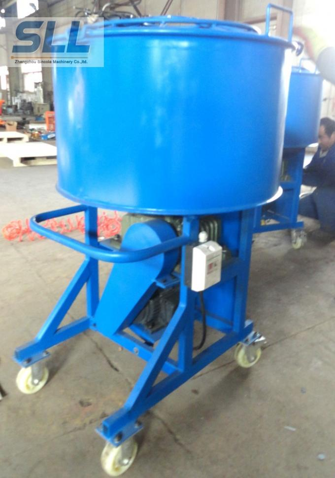 Big Volume Concrete Spraying Machine / Mortar Spray Equipment 760×800×1400m