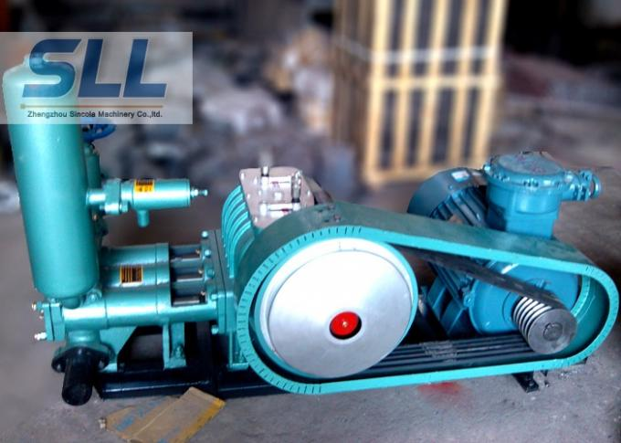 High Efficient Electric Mud Pump / Small Mud Pump Environmental Operation