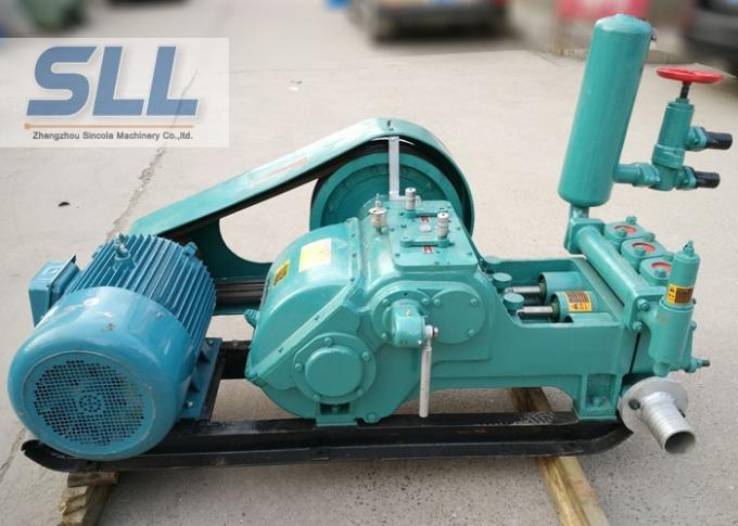 Professional Portable Cement Grouting Pump / Cement Slurry Pump Large Output Capacity
