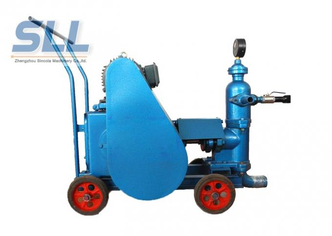 4kw Construction Machine Cement Mortar Pump For Sand / Cement / Mortar