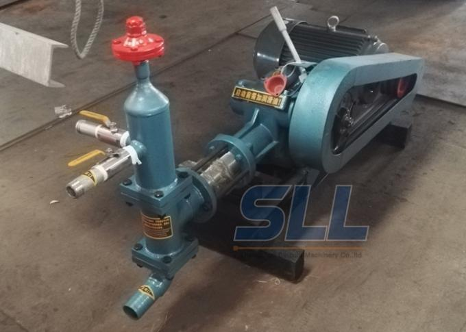 20 Bar Single Cylinder Piston Cement Grouting Pump For Building Construction
