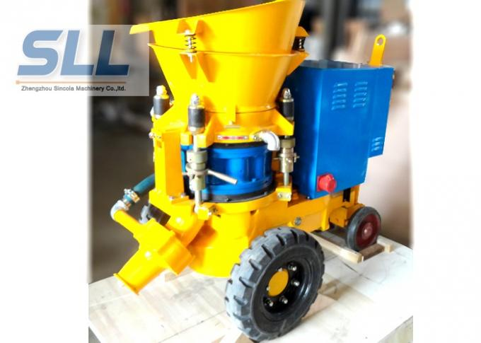 Stable Performance Concrete Spraying Machine Compact Structure Various Style