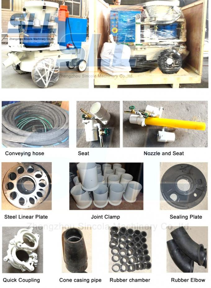 Professional Concrete Spraying Machine Spare Parts OEM / ODM Available