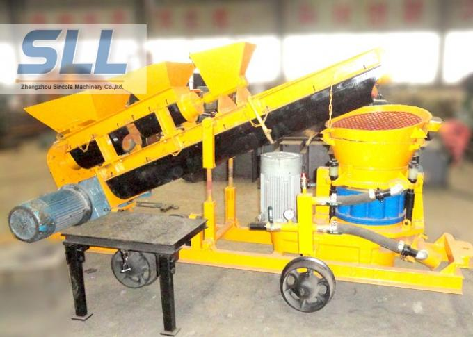 Screw Mixer Concrete Spraying Machine Self Loading Shot Concrete Machine