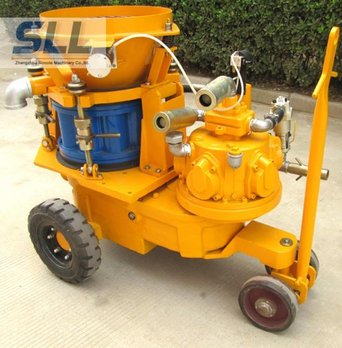 Air Motor Dry Mix Concrete Spraying Equipment