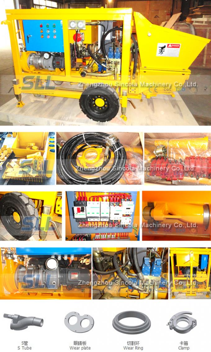 Electric Type Concrete Spraying Equipment