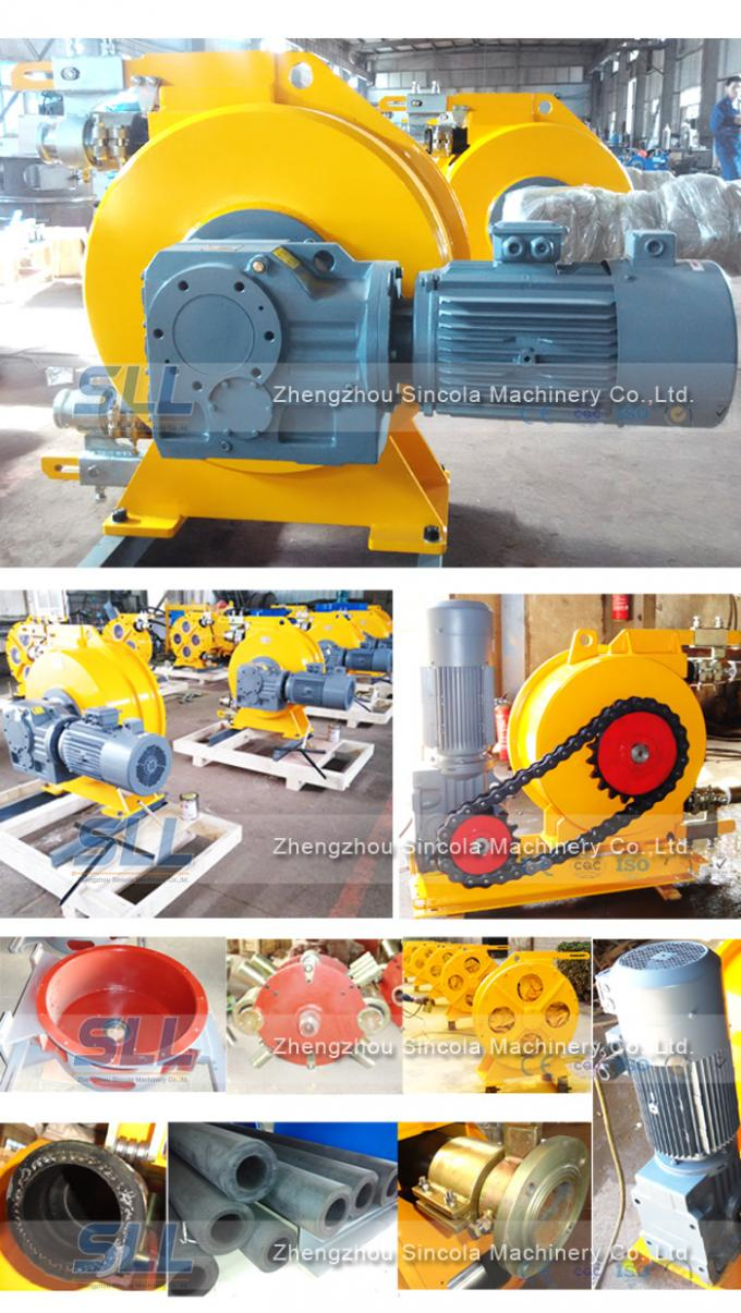 Self - Priming Reversible Hose Squeeze Pump No Leakage Multiple SH Types / Models