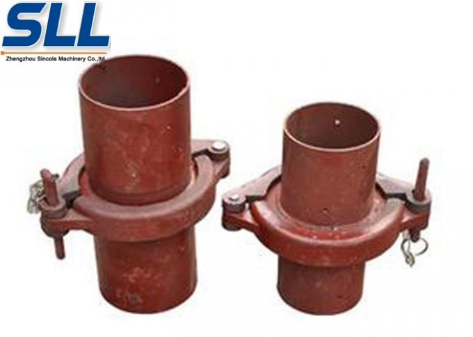 General and durable snap ring for pipe tight connection concrete spraying equipment parts