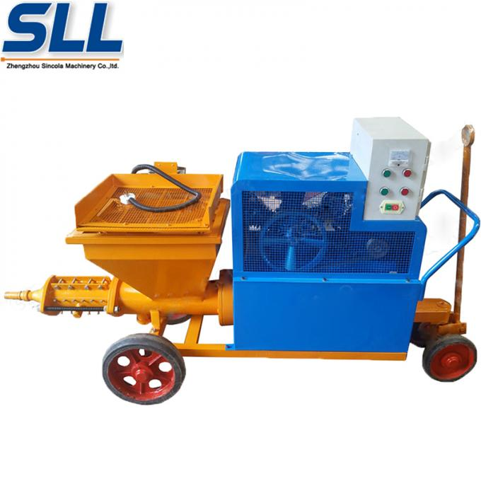 High Speed Professional Electric Mortar Spraying Machine For Wall And Ceiling