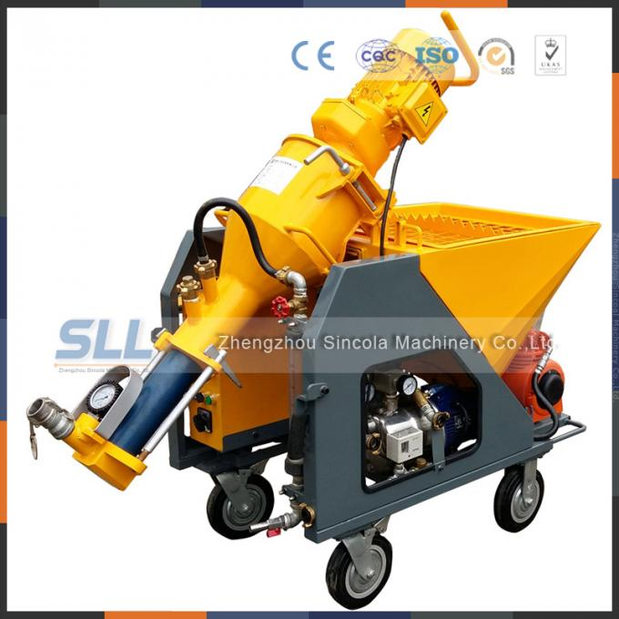 Cement Mortar Automatic Plastering Machine Mini Electric Screw Plastering Tool