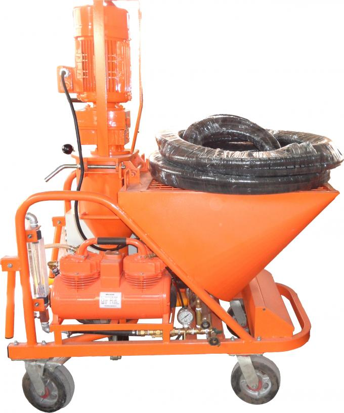 Cement Mortar Spraying Machine For Building , Automatic Wall Plastering Machine