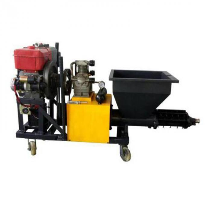 High Technology Cement Plastering Machine 120L 380V / 7.5kW Power