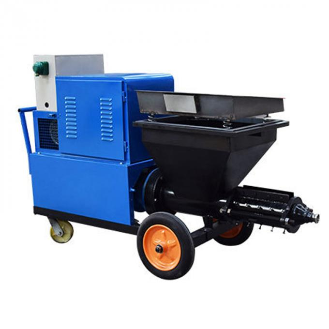 High Efficiency Mortar Spraying Machine Automatic Plastering Machine For Exterior Wall
