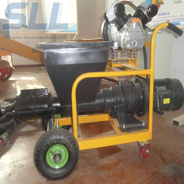 Diesel High Speed Concrete Spraying Machine Small Volume For Construction