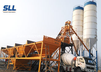 China Electric Power Type Concrete Manufacturing Plant / Concrete Batch Mix Plant supplier