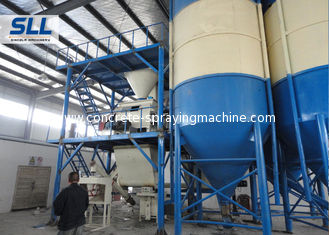 China Fully Automatic Dry Mortar Plant / Ready Mix Plaster Plant 45-55kw Power supplier