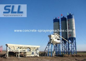 China HZS35 Cement Concrete Batching Plant With Sealed Patent Convenient Operation supplier