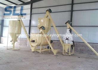 China Simple Type Dry Mortar Production Line / Portable Dry Mortar Machine supplier