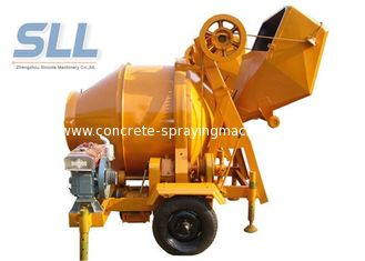 China JZC350 Easy Moving Self Loading Concrete Mixer Machine 2600*1950*2580mm supplier