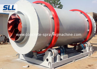 China Multi Functional Sand Drying Equipment , Industrial Sand Dryers Three Cylinder supplier