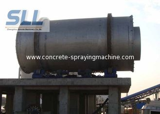 China High Efficient Small Sand Dryer Machine With Wear Resistant Manganese Plate supplier