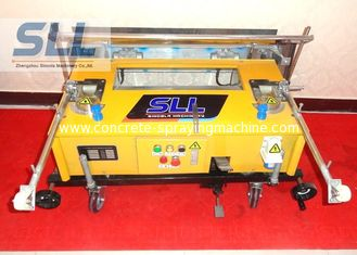 China Remote Control Construction Plaster Machine / Automatic Plastering Machine For Wall supplier