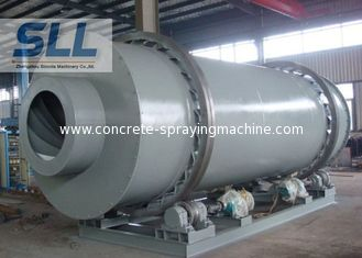 China Environmentally Friendly Sand Rotary Dryer / Drum Drying Machine Easy Operation supplier