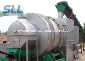 China Professional Rotary Drum Dryer Machine Silica Sand Dryer 10-40t/H Capacity supplier