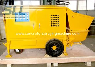 China Easy Operation Small Shotcrete Pump For Grouting Pump Spraying 7-15 M3/H Output supplier