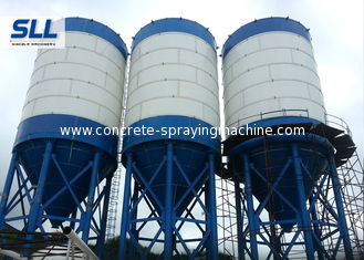 China Vertical Cement Storage Silo For Bulk Powder Products 1000T Capacity supplier