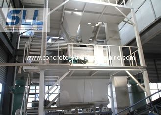 China Customized Color Mortar Mixing Equipment With Electrical Weighing System supplier