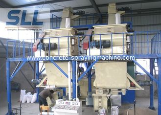 China 20t/H Low Noise Dry Mix Mortar Manufacturing Plant With PLC / PC Control supplier
