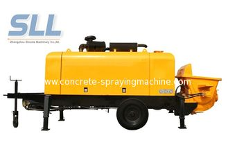 China Energy Saving Stationary Concrete Pump Trailer For Construction 1 Year Warranty supplier