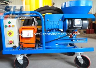China Compact Structure Cement Spraying Equipment , Spray Plaster Machine With Control Box supplier