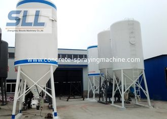 China High Efficiency Cement Storage Silo Dry Powder Mortar Storage Tank 3 - 10t Weight supplier
