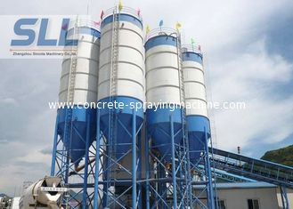 China Waterproof Steel Cement Silo , Batching Plant Silo Convenient Installation supplier