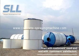 China 380V 400V 415V Portable Cement Silo , Lime Storage Silo Large Capacity supplier