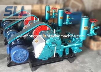 China Compact Structure Mud Slurry Pump Cement Grouting Pump High Pump Efficiency supplier