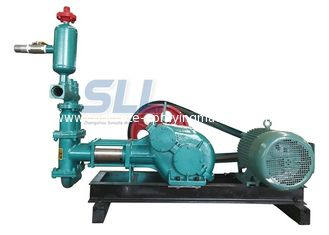 China 20 Bar Single Cylinder Piston Cement Grouting Pump For Building Construction supplier