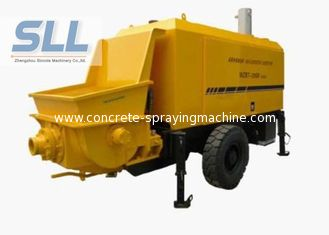 China Horizontal Cement Mortar Pump Machine For High Level Mortar Conveying supplier