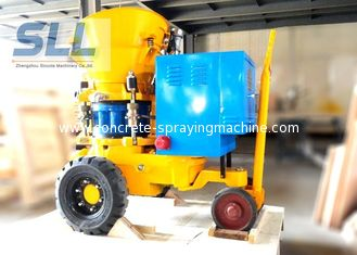 China Swimming Pool Building Dry Shotcrete Machine Equipment Long Service Life supplier
